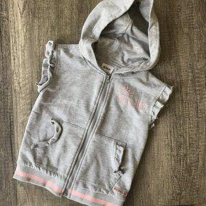 3/$30 Hudsons Hooded Sweatshirt Vest